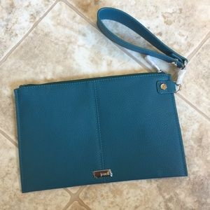 Thirty-One Turquoise Clutch Wristlet